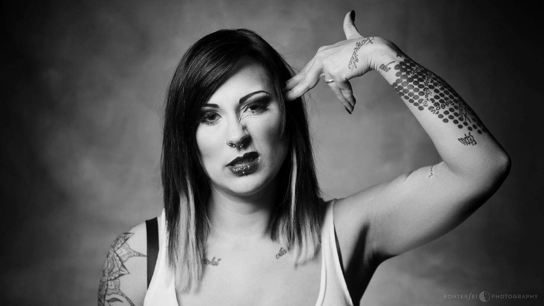 Headshot | Dark Beauty | Photography