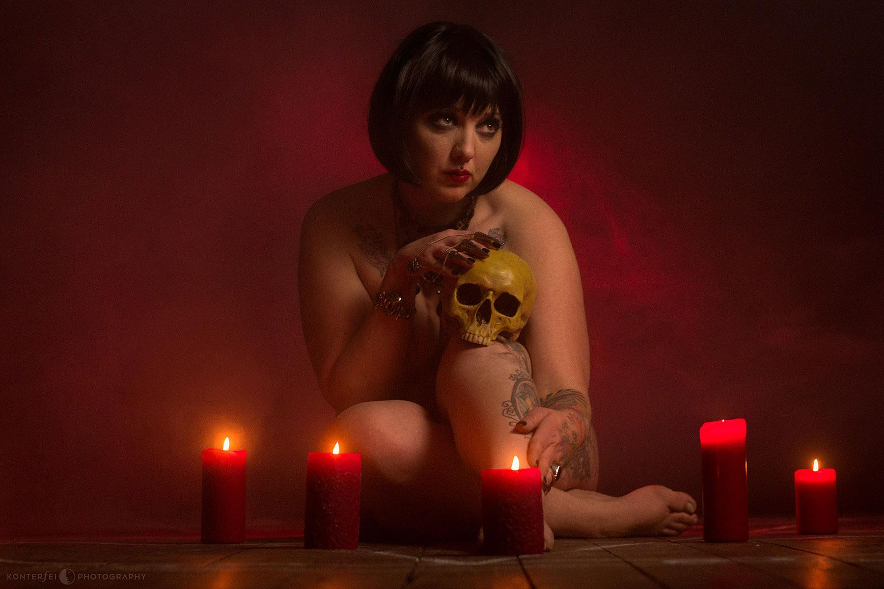 The Alchemical Marriage | Dark Beauty | Photography