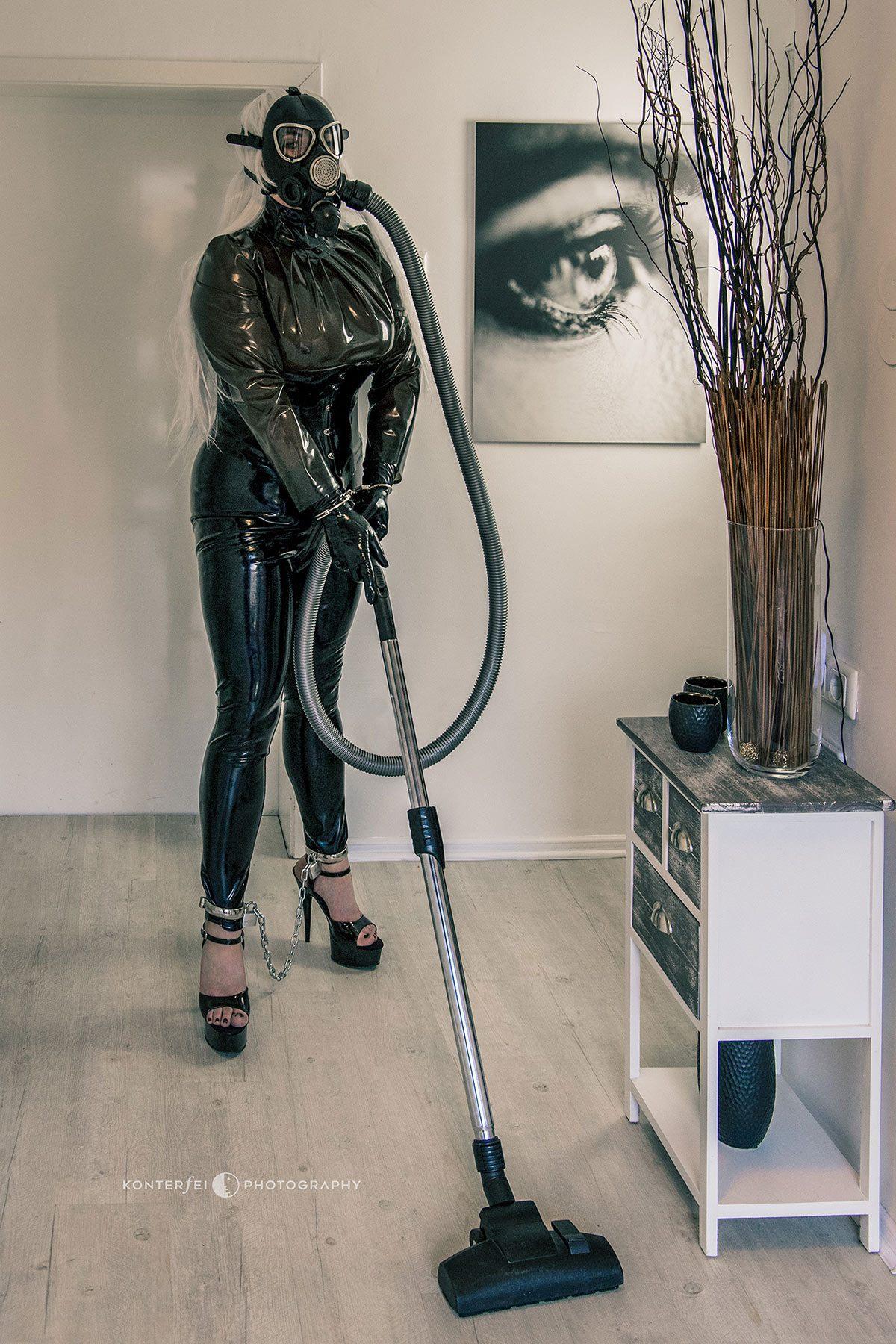 Vacuum Cleaning Mask   Fetish   Photography