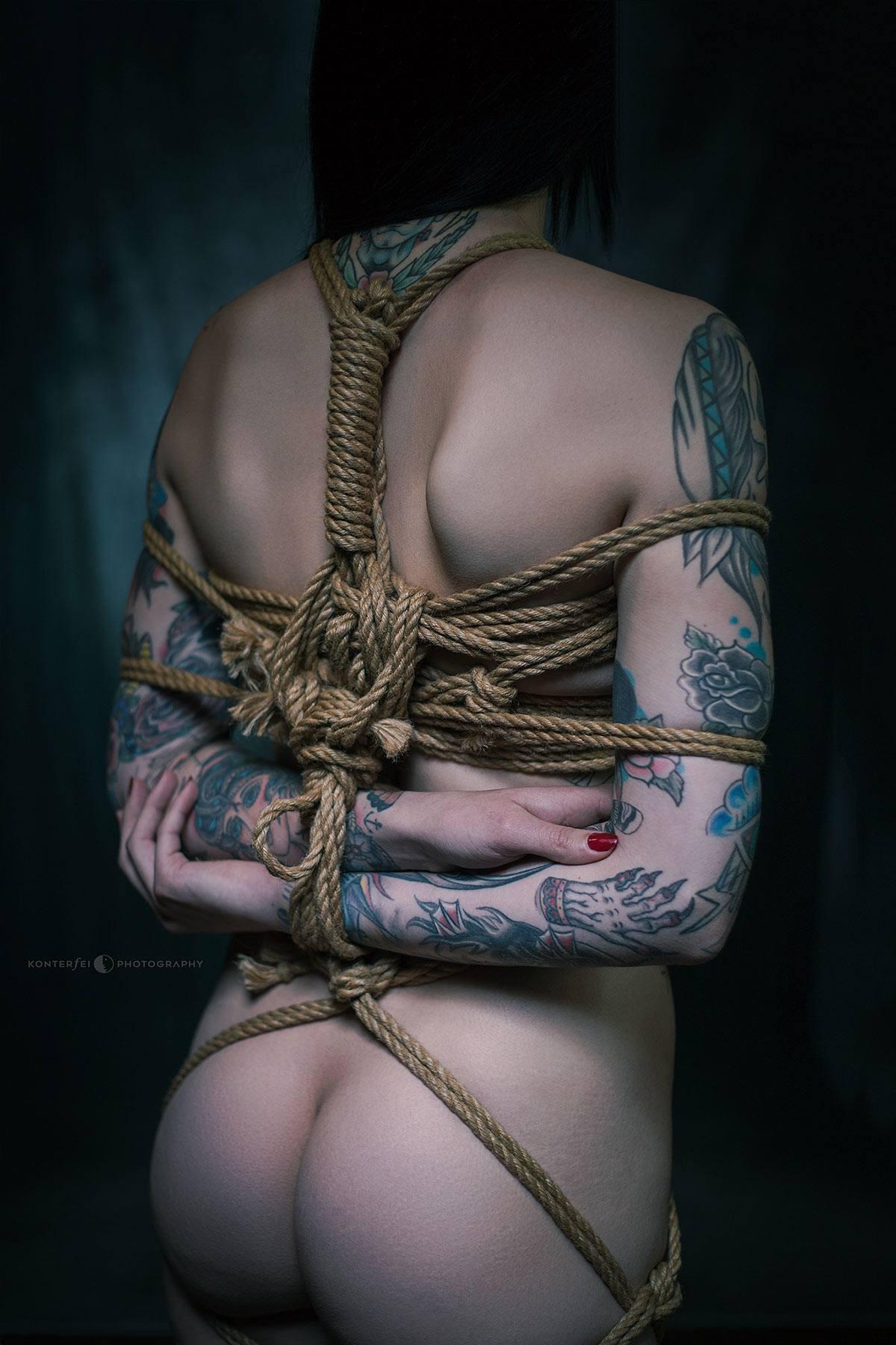 Ink and Ropes II | Bondage | Photography