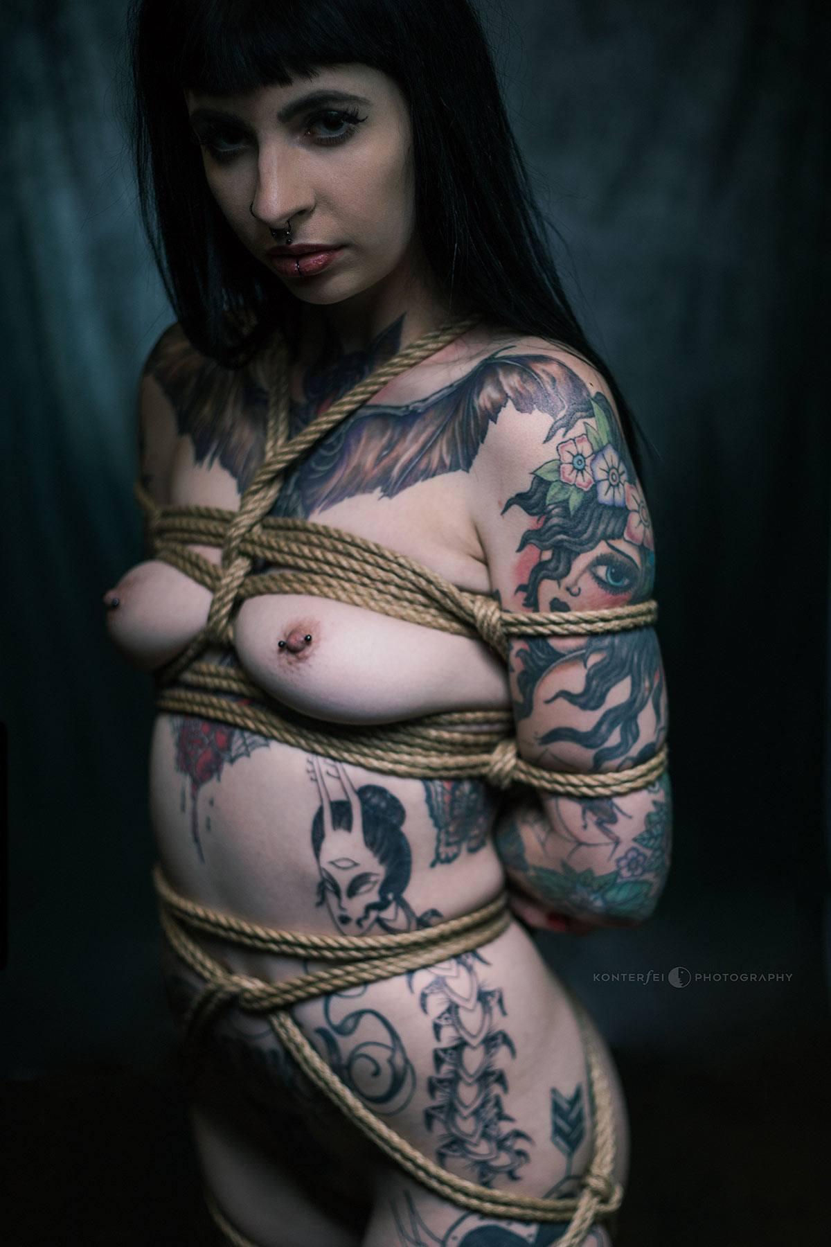 Ink and Ropes | Bondage | Photography